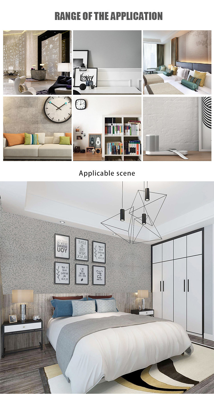 SUNYE pvc  wallpaper factory direct supply for home decoration
