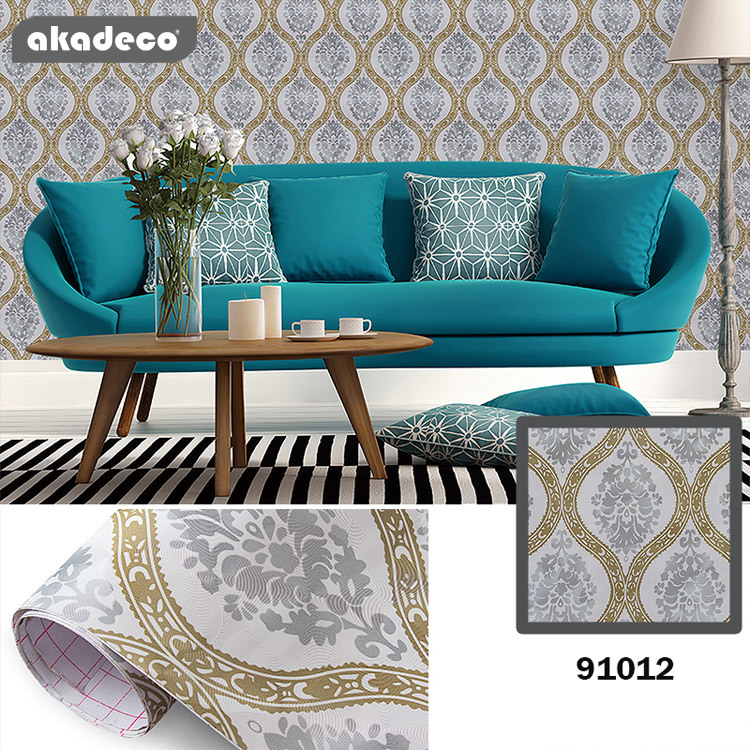 Wallpaper for bedroom for old furniture self adhesive and removable cover surfaces