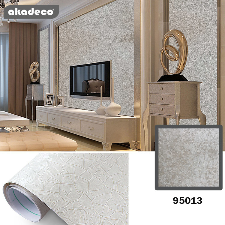 wallpaper peel and stick wallpaper custom wallpaper remove self adhesive wallpaper glossy silky film PVC contact paper decorative waterproof