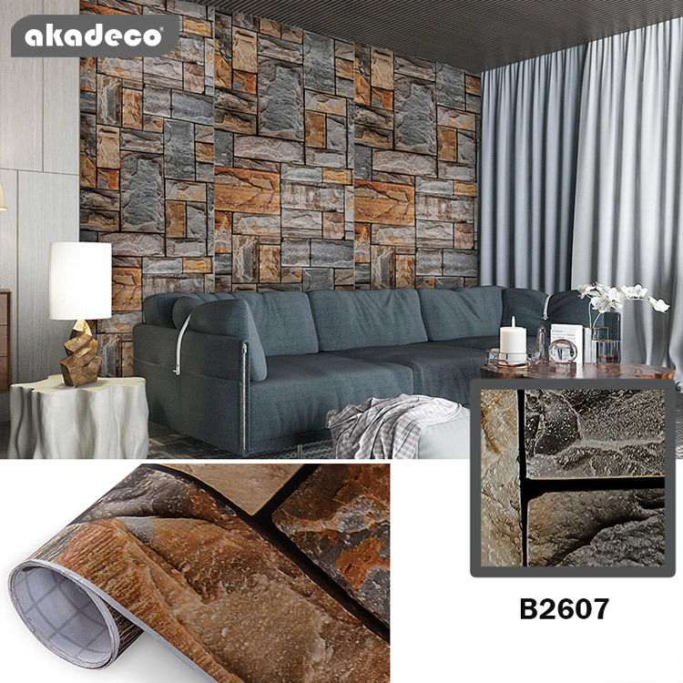 brick peel and stick wallpaper stick and peel contact paper removable wallpaper waterproof self adhesive wallpaper shelf drawer liner vinyl film