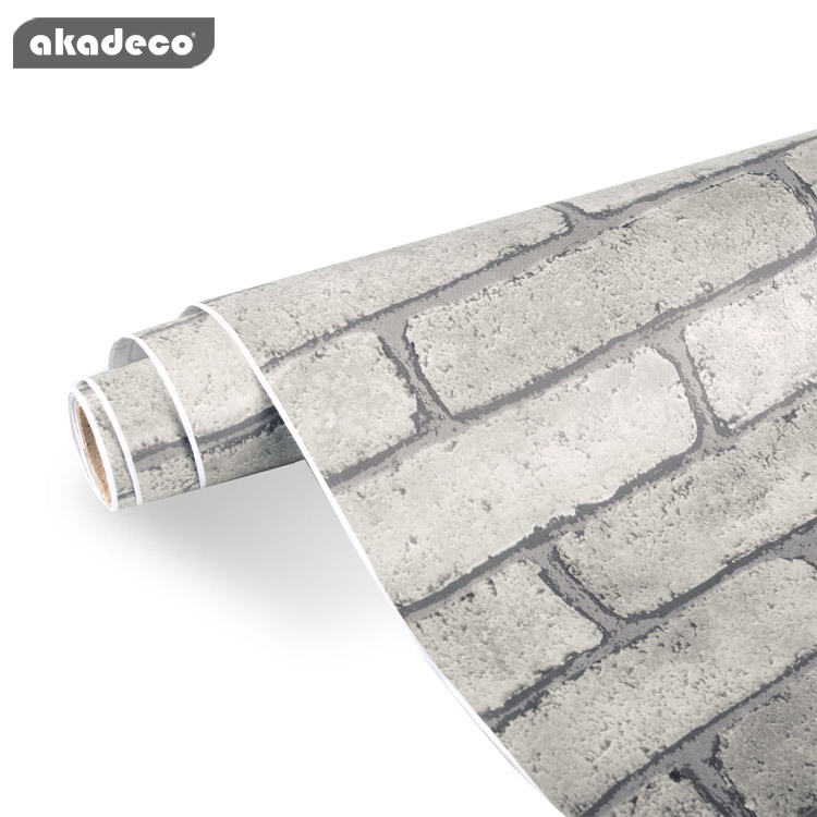 contact paper brick wallpaper peel and stick backsplash brick wall decorations stone wall Paper decorative adhesive paper brick wall sticker and mural