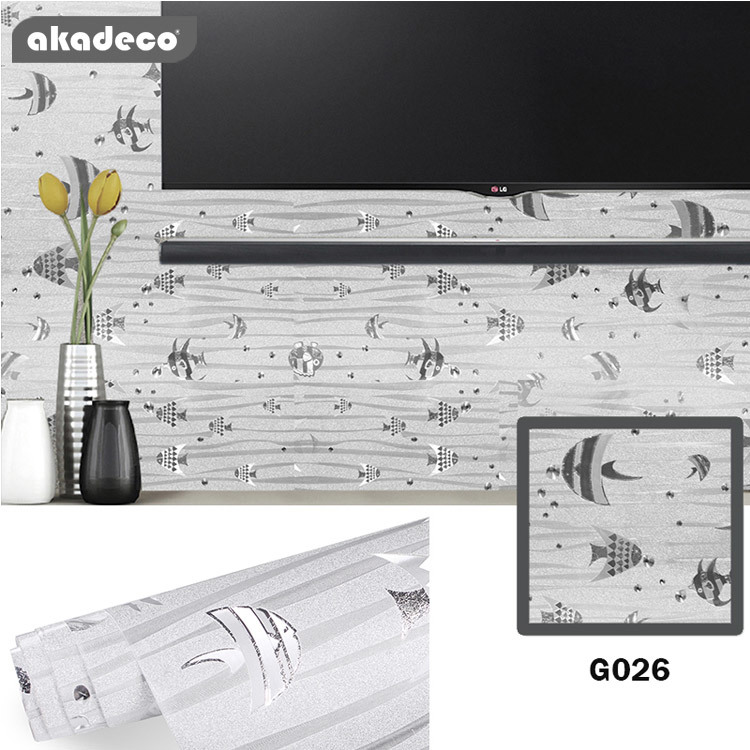 glitter wall stickers shine color wallpaper for window décor wall décor G026