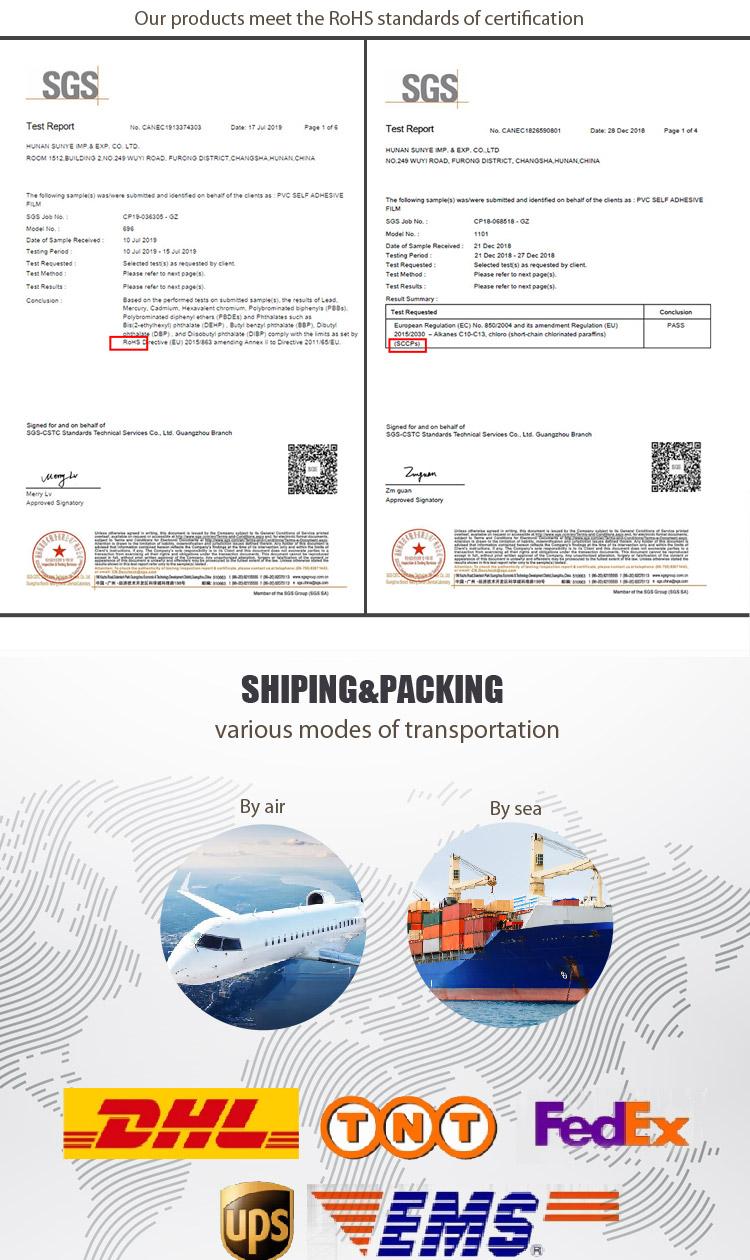 SUNYE self adhesive borders supplier for canteen-7