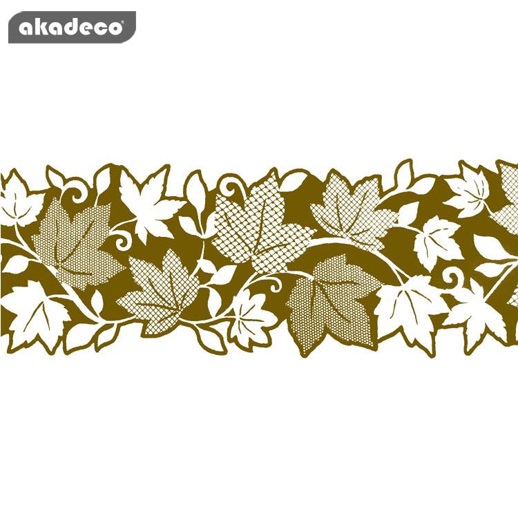 akadeco border stick 10cm*10m*0.05mm water proof moisture proof  maple leaf pattern B6002A