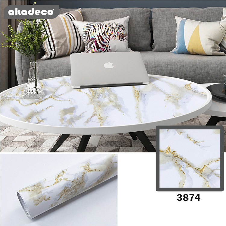 marble wall paper for bathroom counter dining table desk furniture renovations M3874