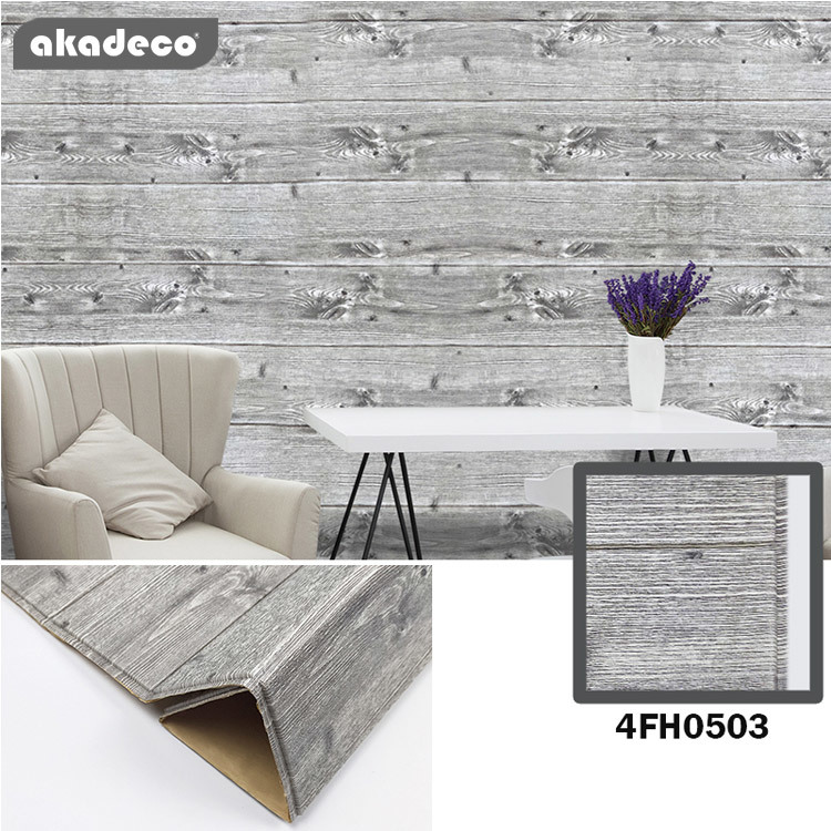 XPE 3d wallpaper for living room new gry color for house renovation lovely feeling 4FH0503