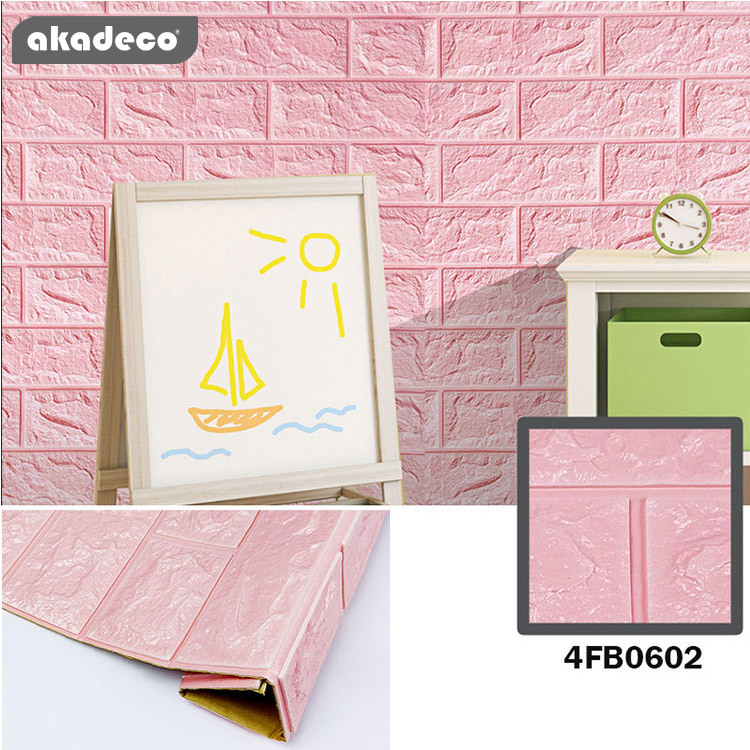 3D XPE foam film akadeco anti-noise beautiful pink color 4FB062