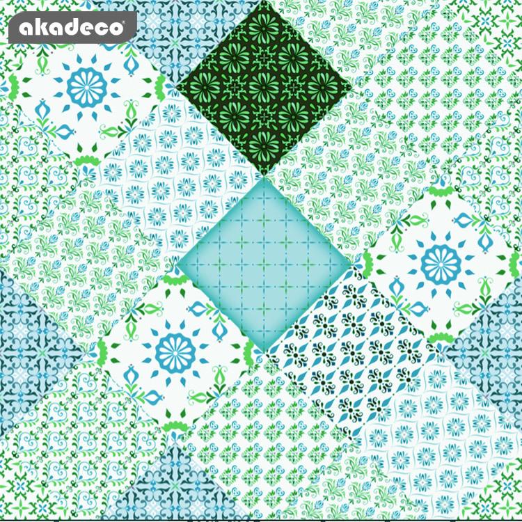 akadeco wall stickers bohemia style water-proof