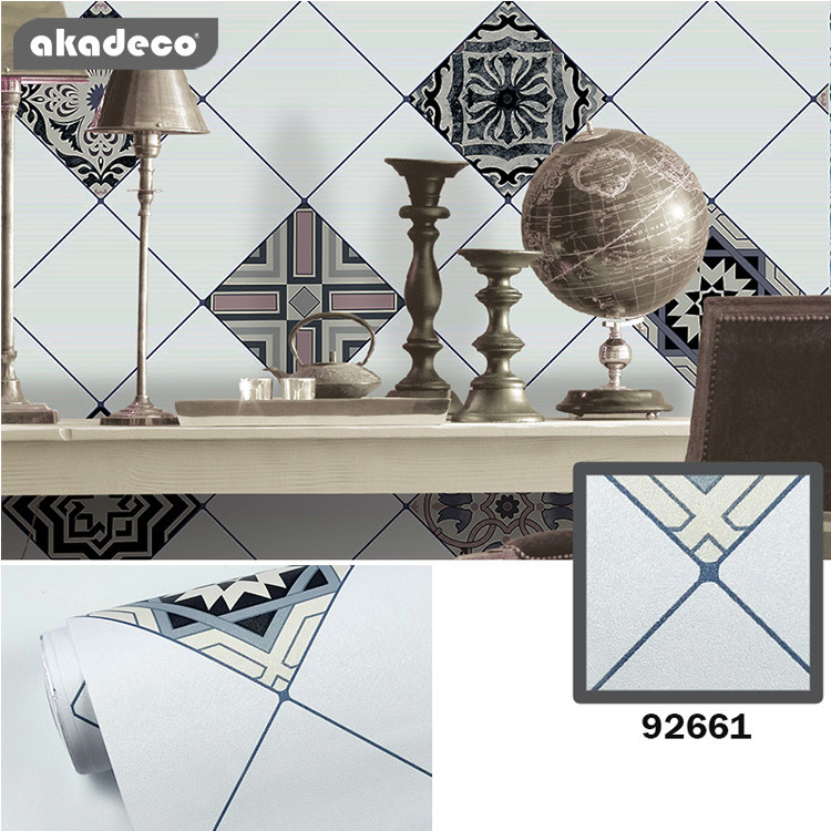 PVC akadeco wall stickers for bedrooms popular bohemia color
