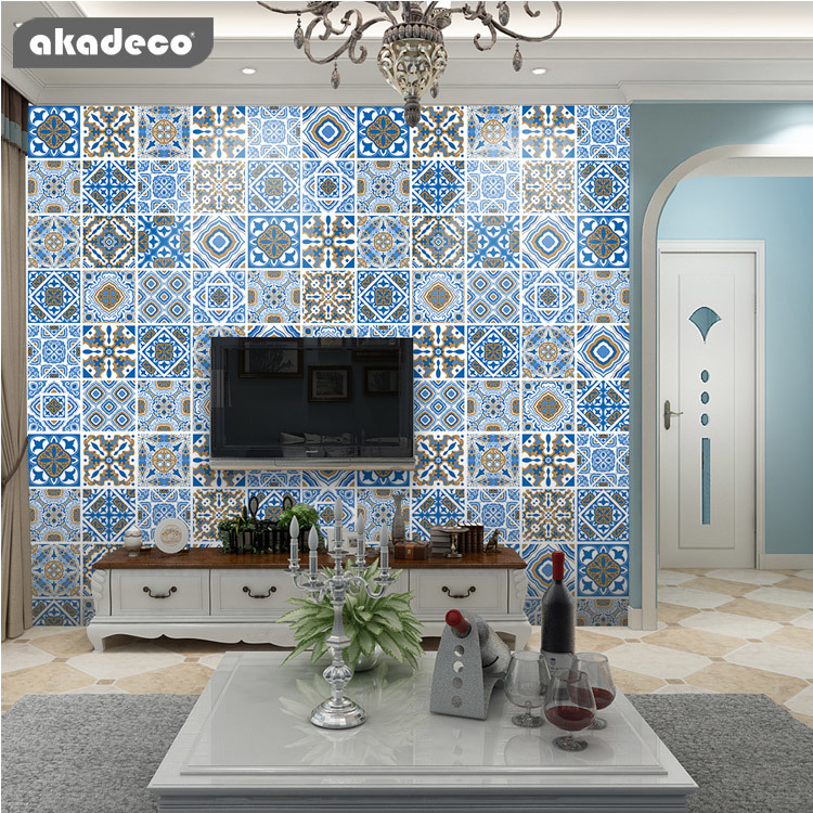 akadeco wallpaper for walls moisture-proof anti-proof classic bohemia design