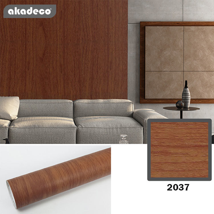 akadeco wood wallpaper peel and stick easy to use nature wood pattern