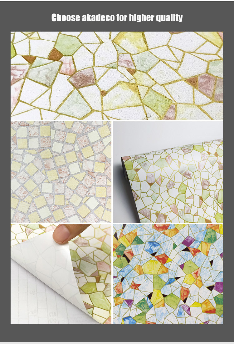 SUNYE new PVC PRINTED SERIES ADHESIVE FILM with good price for bedroom