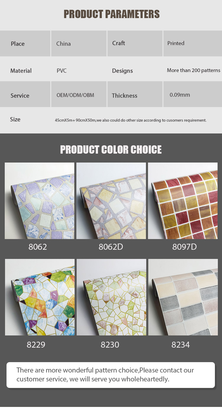 SUNYE new PVC PRINTED SERIES ADHESIVE FILM with good price for bedroom-4