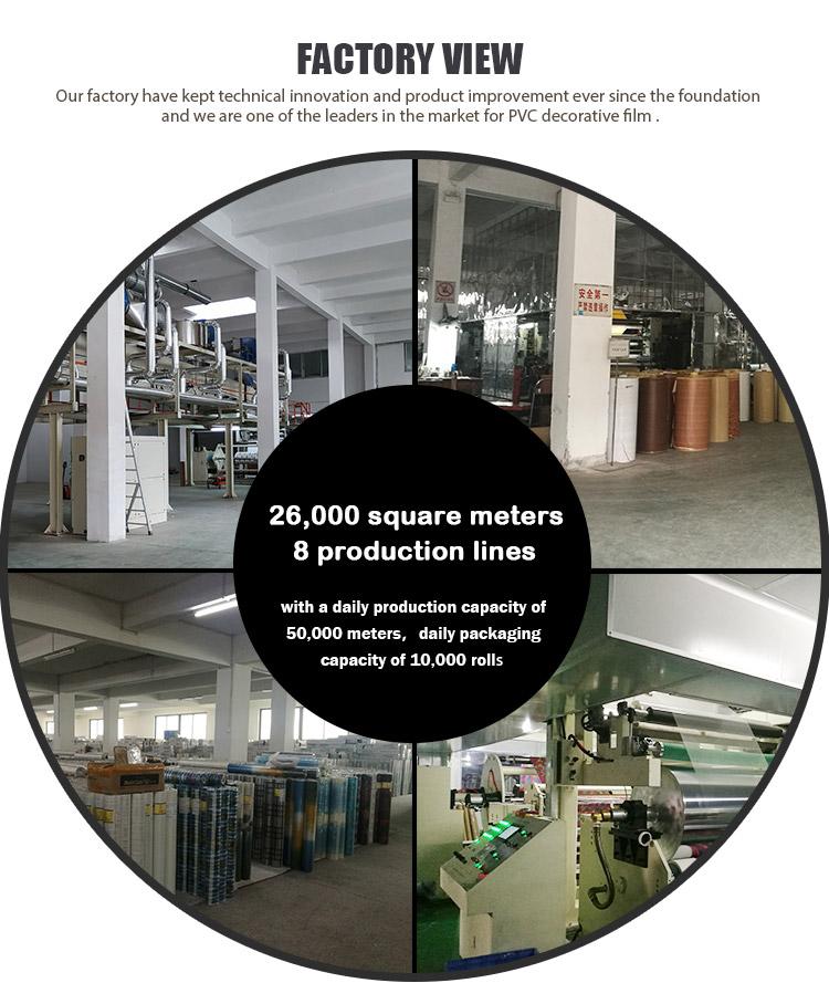 SUNYE PVC PRINTED SERIES ADHESIVE FILM manufacturer for living room-11