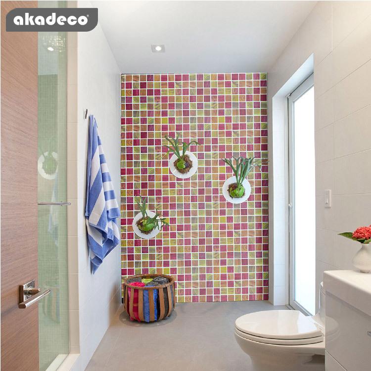 printed wallpaper self adhesive film for house renovation health material