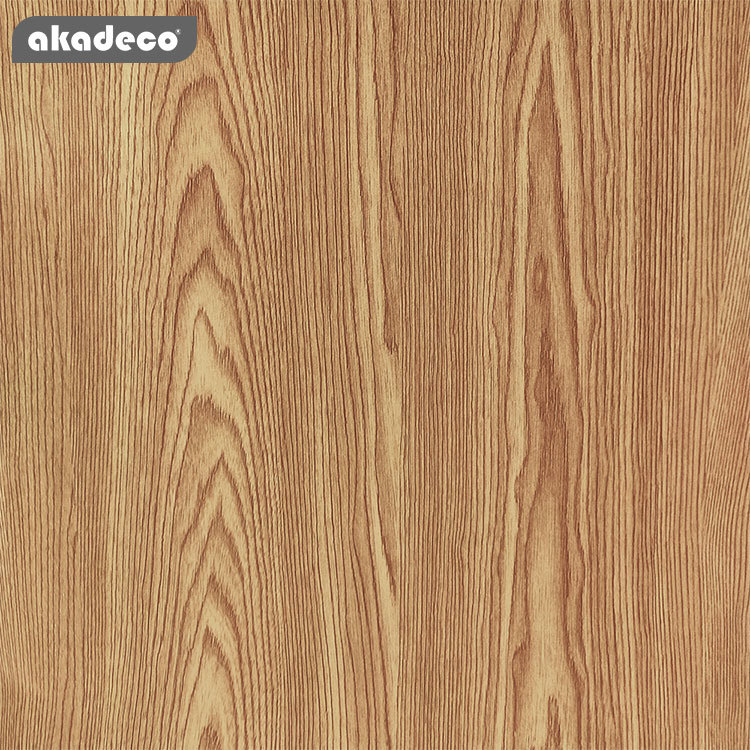 akadeco self adhesive film wooden stickers 45cm*10m*8mm water-proof 2061