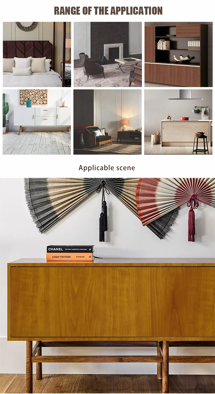 SUNYE wood effect paper manufacturer for dining room-5