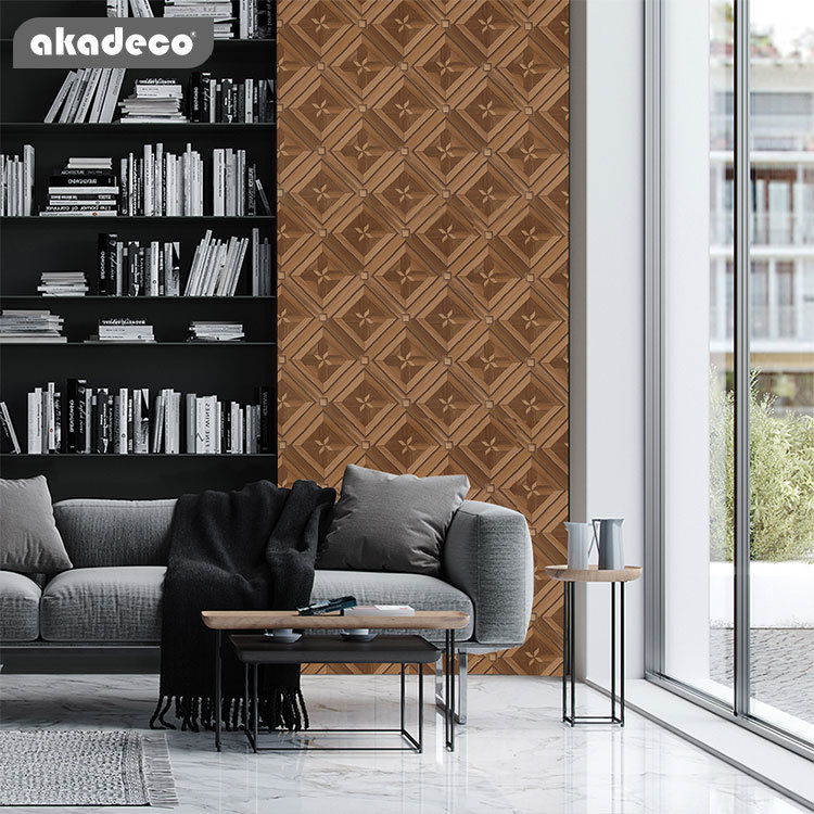 PVC wood stickers for furniture décor use for all life