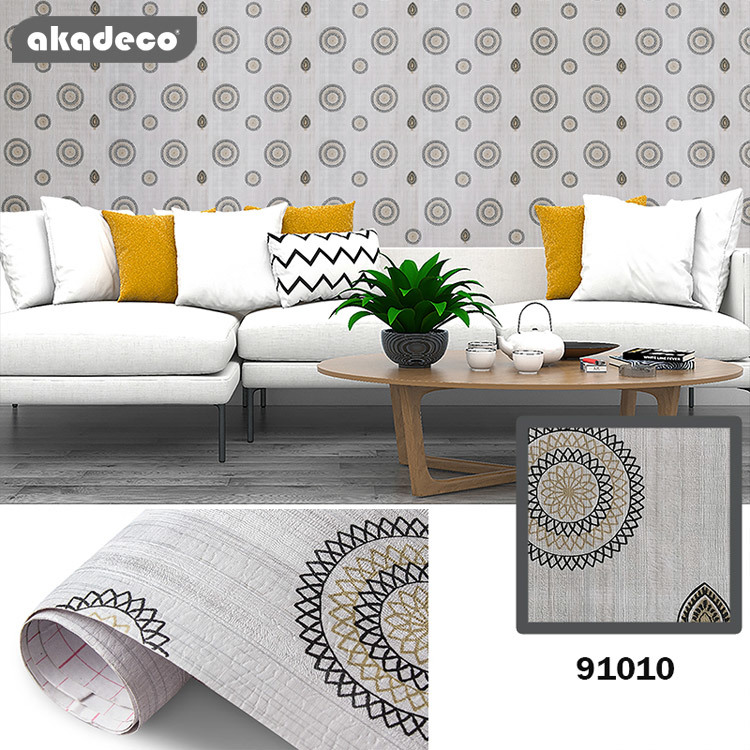 akadeco wall stickers for bedrooms living room hot selling style 91010