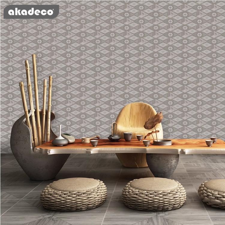 wallpaper for walls for furniture classic Lozenge design mildew-proof 95050