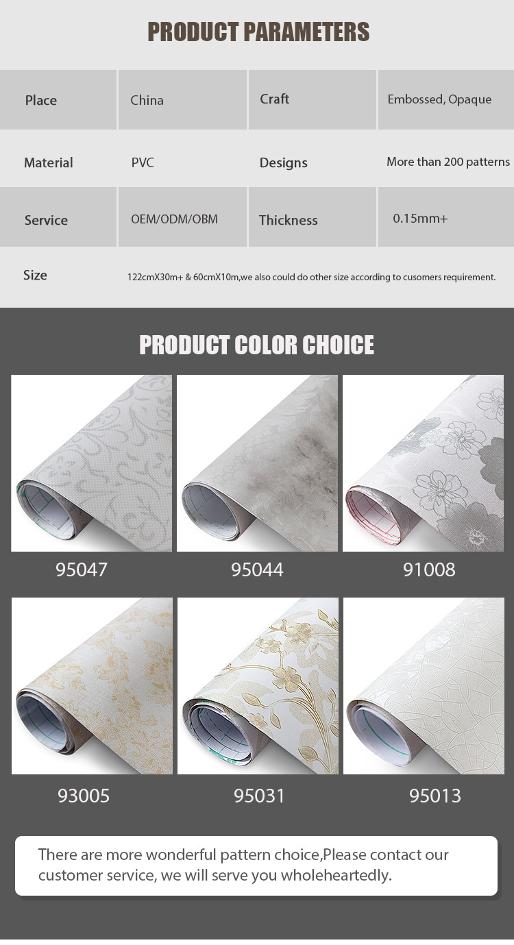 SUNYE cheap pvc wallpaper for wall factory direct supply for sale-4