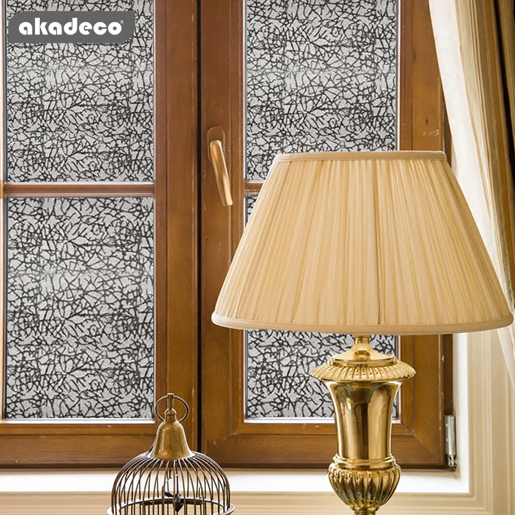 akadeco PVC glitter wall stickers for home décor for KTV scratch resistant G002