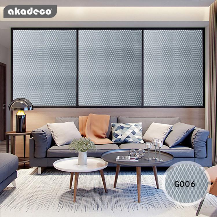 akadeco PVC film glitter sliver color gold color for home décor G006
