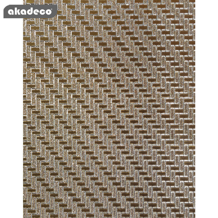 glitter self adhesive film  suitable for KTV fadeless PVC healthy material G009