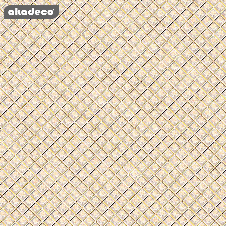 akadeco pvc glitter wall paper bright color for home renewable G027A