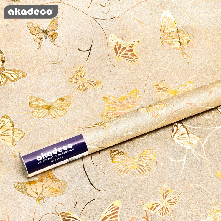 akadeco PVC glitter wall stickers for home décor for KTV water-proof scratch resistant G023A