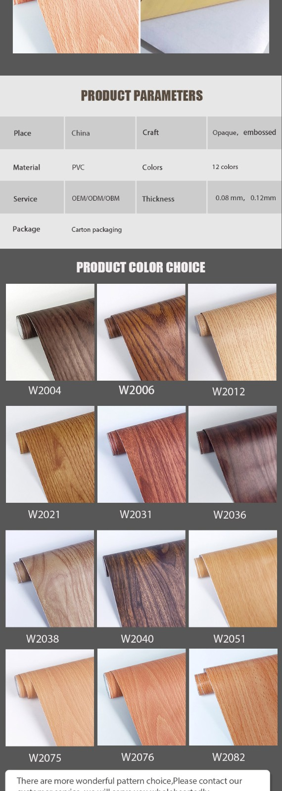 SUNYE wood effect contact paper factory direct supply for workshop-5