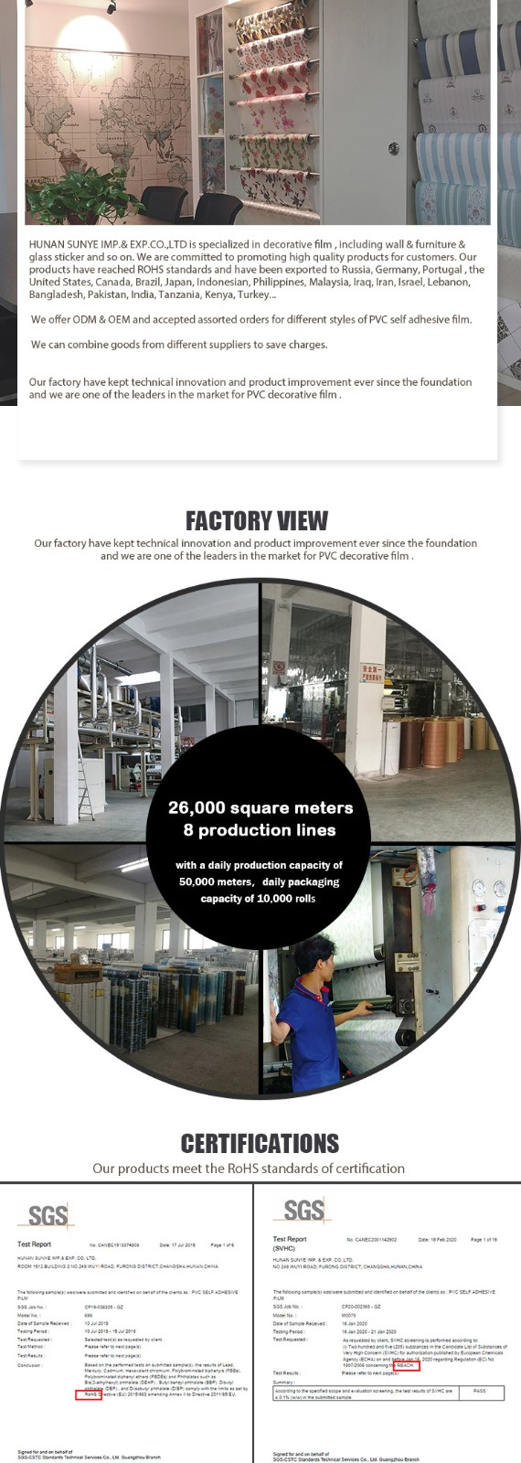 SUNYE wood effect contact paper factory direct supply for workshop-9
