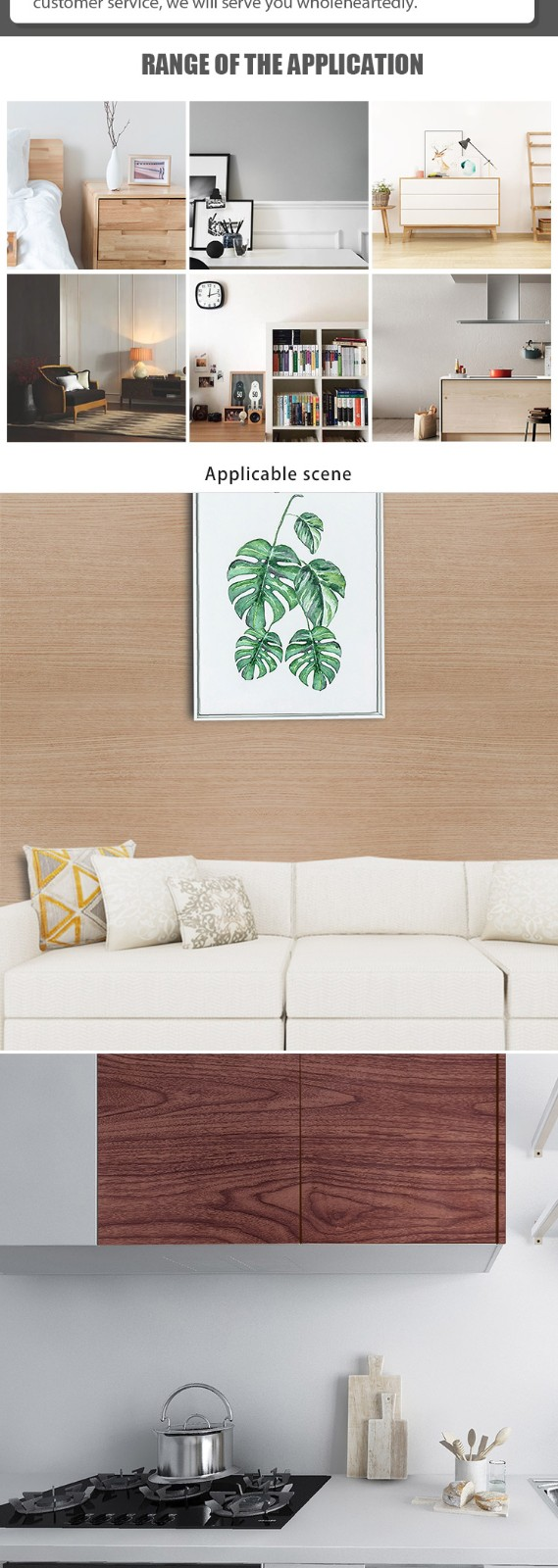 SUNYE new wood effect contact paper inquire now for secretary room-6