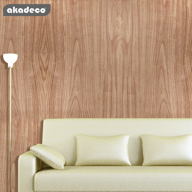 akadeco wooden wall stickers home decoration with wooden style