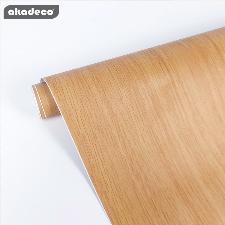 PVC self adhesive film home depot wood wall stickers water-proof W2051