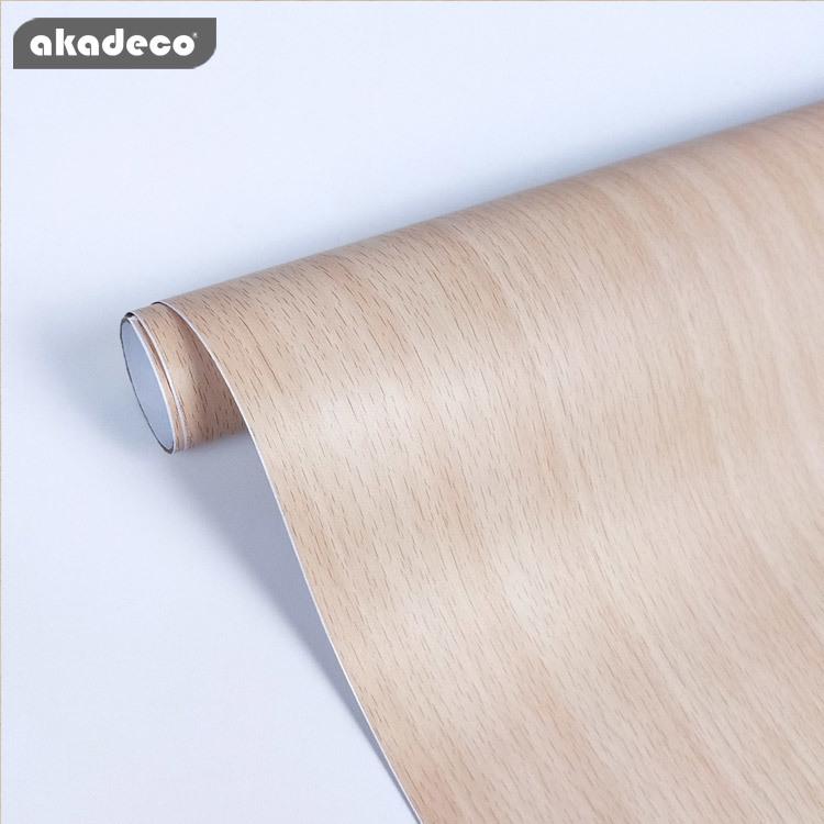 akadeco self adhesive film wood texture color water-proof W0188