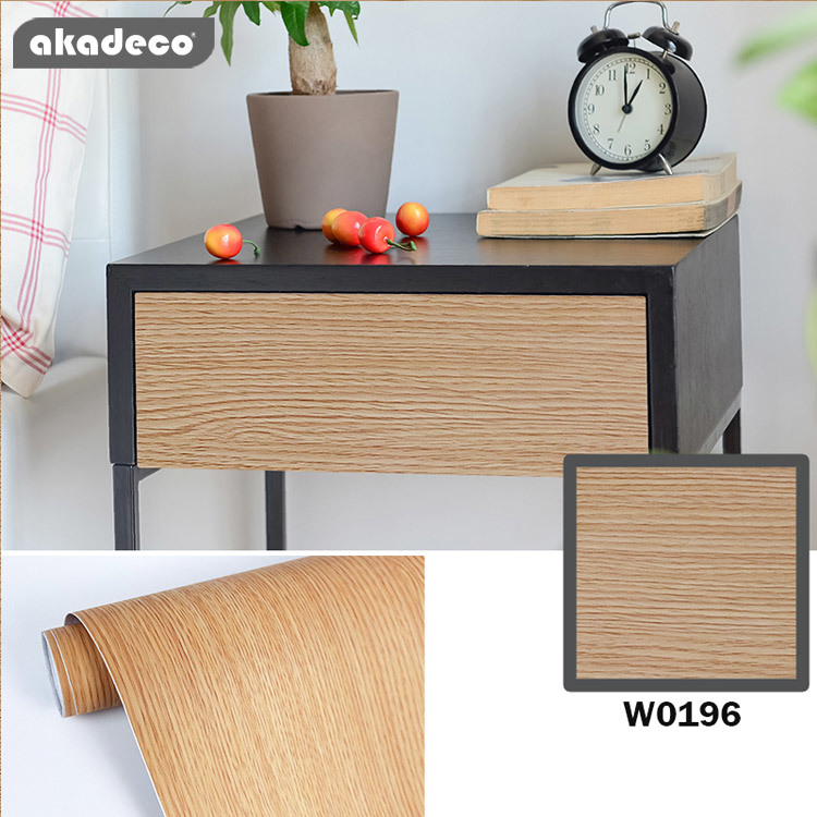 pvc woodgrainpaperfor wall decor peel and stick easy to use nature wood pattern