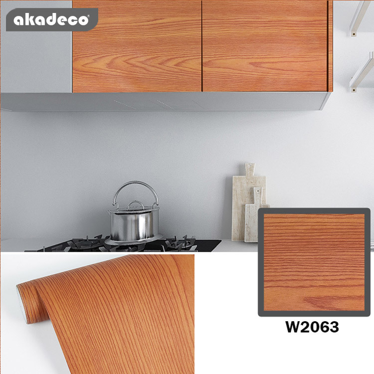 akadeco wood wall stickers for home décor mildew-proof W2063