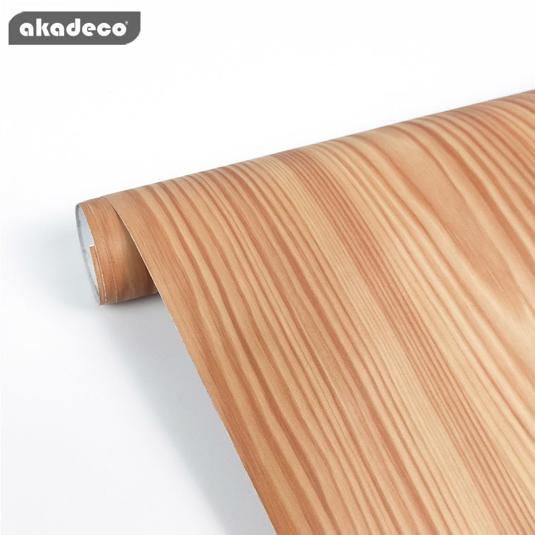 akadeco wood texture wall sticker self adhesive filmeasy to clean
