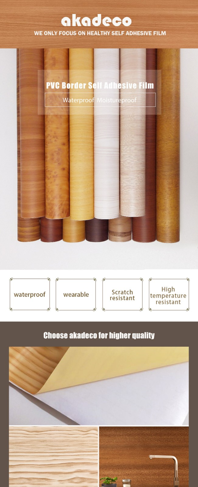 top contact paper wood pattern best supplier for electrical room-2