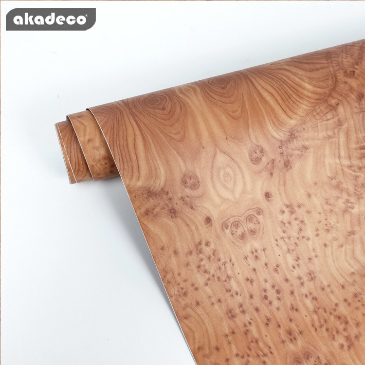 akadeco PVC self adhesive film home depot for furniture decoration miosture-proof