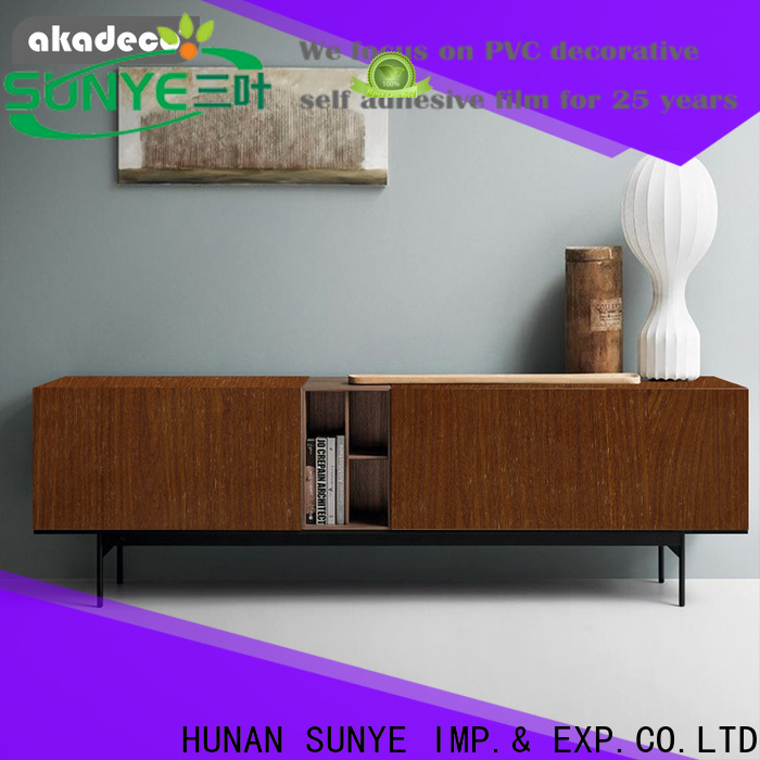 reliable pvc wood from China for dining room