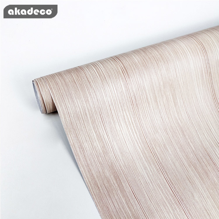 PVC self adhesive film wooden wallpaper table mildew-proof W0422