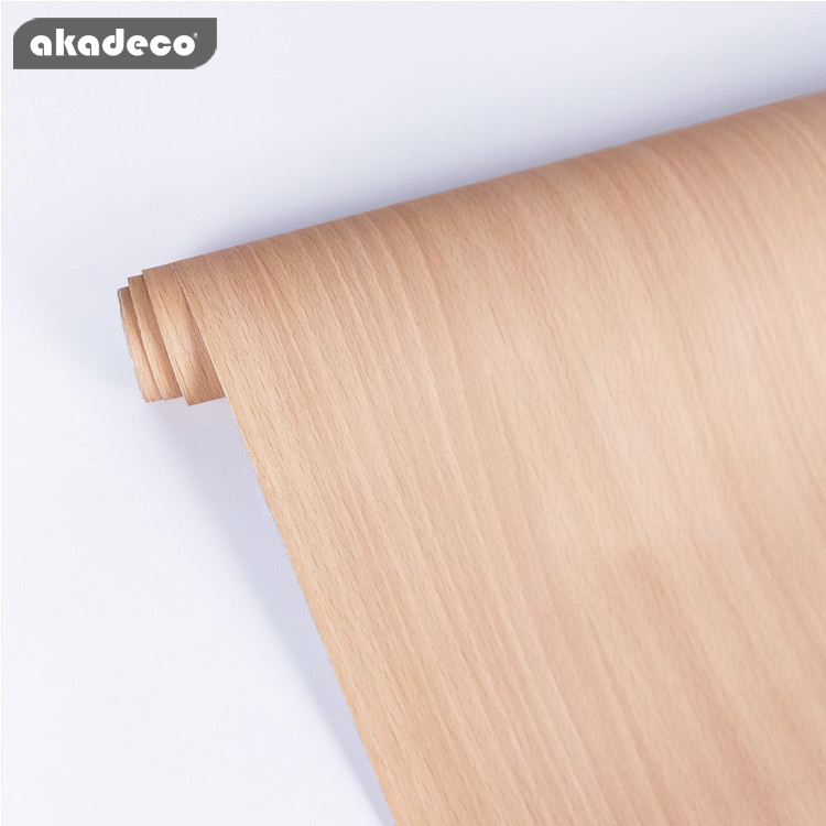 PVC popular wood wallpaper sticker easy to use nature wood pattern A0007
