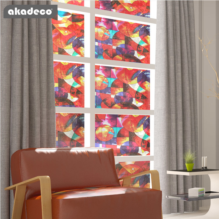 self adhesive film for window  no glue frosted privacy film