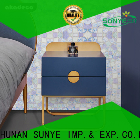 SUNYE PVC PRINTED SERIES ADHESIVE FILM supplier for canteen