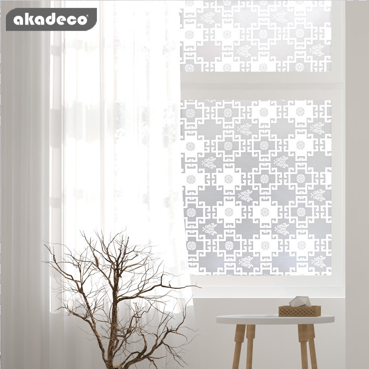 window adhesive film supplier easy to use  classic white color