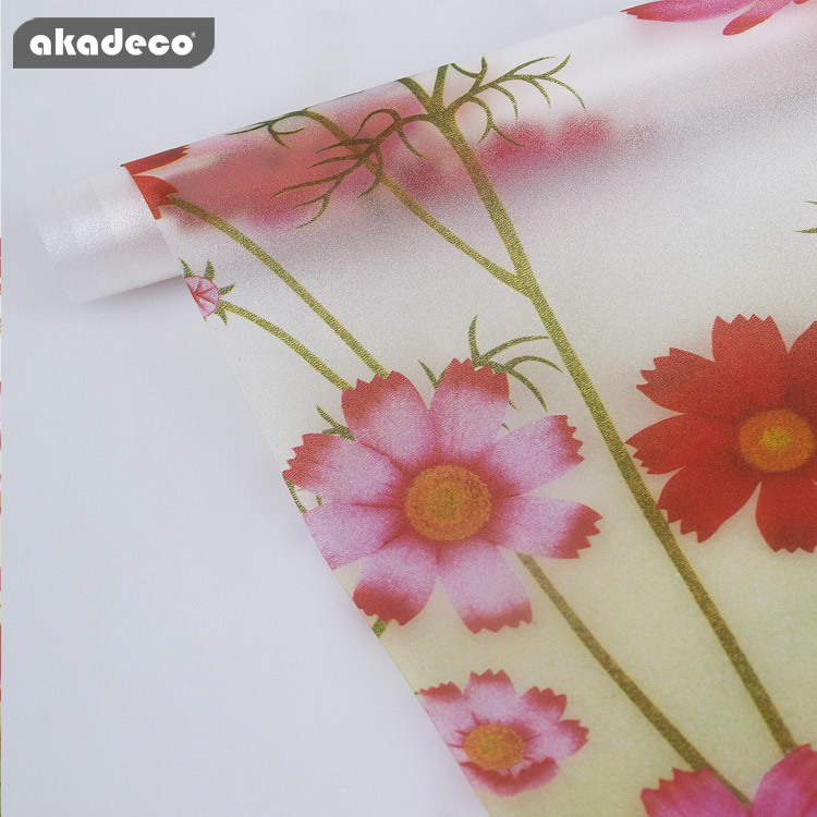 akadeco window filmdecorative for office and home decoration E0036