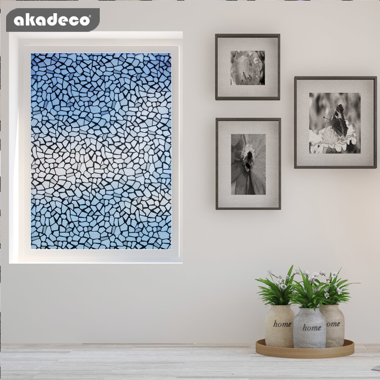 akadeco window contact paper moisture-proof use removable glue