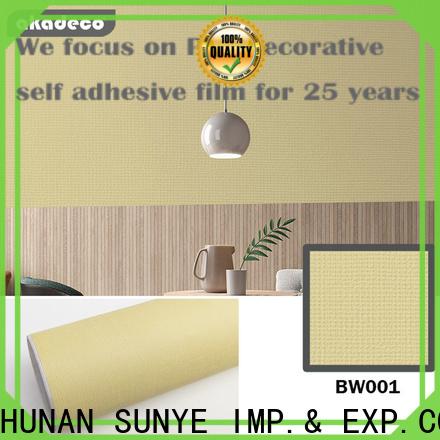 SUNYE factory price solid color removable wallpaper best manufacturer for sale